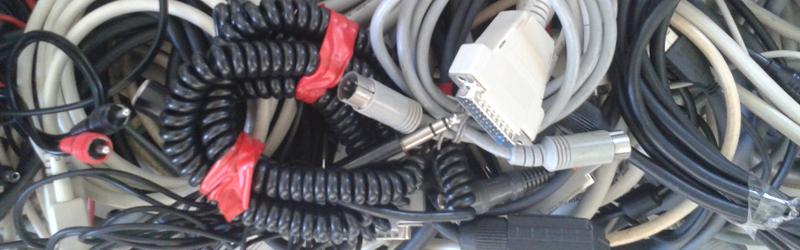 Kabel gefällig? Bild: Elektor Retronik
