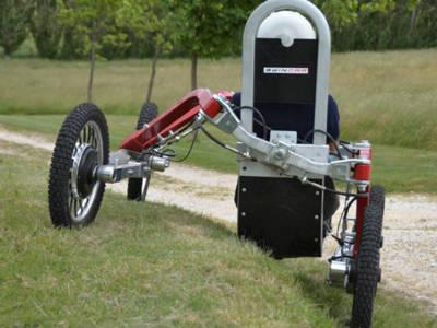E-Bike mit vier Rädern oder Quad mit Elektroantrieb? Nennen Sie es, wie Sie wollen, aber eines ist sicher: Es macht jede Menge Spaß, damit zu fahren.