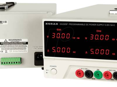 3-Kanal-Labornetzgerät mit USB-Schnittstelle