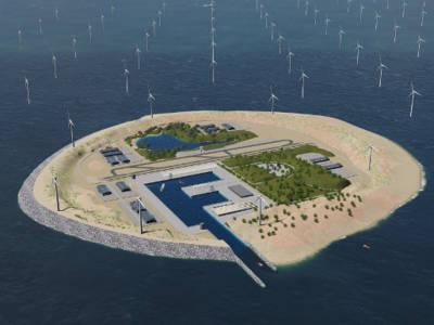 Power Link Island. Bild: TenneT.