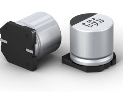Hybrid-Kondensator. Bild: Panasonic