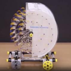 Motor basierend auf Feuchtigkeit und Verdunstung. Quelle: Columbia University / Chen et al.