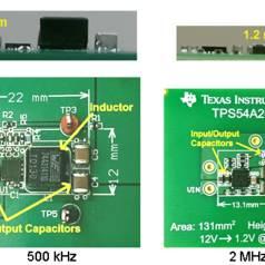 Neue Schaltregler von TI mit Serienkondensator
