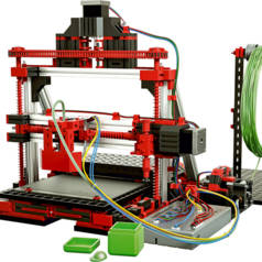 3D-Drucker von fischertechnik