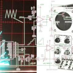 Remake des Röhrenkennlinienschreibers Tektronix 570