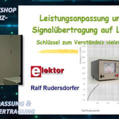 """Gratis für Elektor-Leser: Videokurs """"Hochfrequenztechnik"""" (Teil 2)"""