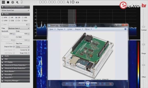 Das neue Software Defined Radio von Elektor