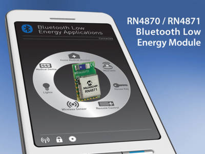 Bluetooth-4.2-Module von Microchip