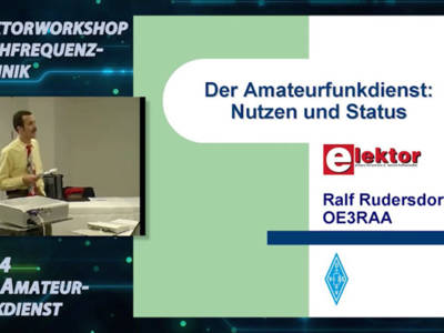 """Gratis für Elektor-Leser: Videokurs """"Hochfrequenztechnik"""" (Teil 4)"""