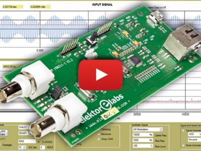 Oszilloskop, Spektrum-Analyzer und Signalgenerator in einem Gerät