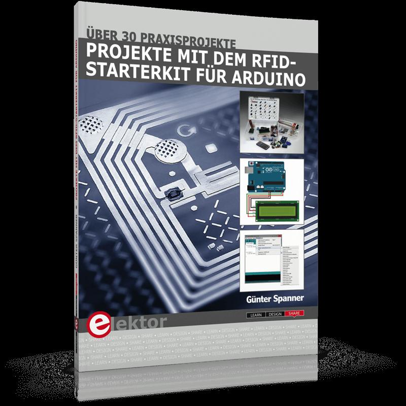 Neues Buch: Projekte mit dem RFID-Starterkit für Arduino
