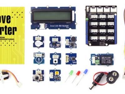 Auf dem Prüfstand : Grove Starter-Kit für Arduino