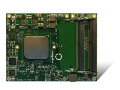 Die neue congatec Server-on-Modules bieten  erstmals 10 Gigabit Ethernet Performance.