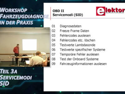 "Gratis für Elektor-Leser: Videokurs ""Fahrzeugdiagnose"" (Teil 3)"