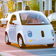 Selbstfahrender Prototyp von Google. Bild: Waymo