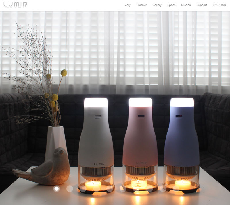 Screenshot: Lumirlight.com