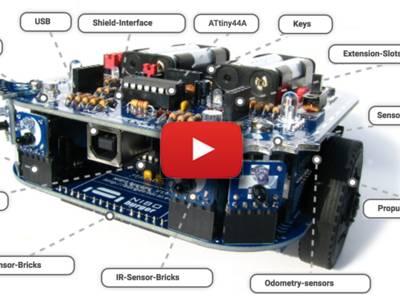 Roboter-Kit NIBO burger