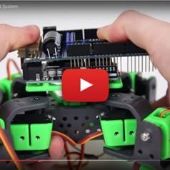 AllBot: Roboter mit vier Beinen in Arduino-Technik