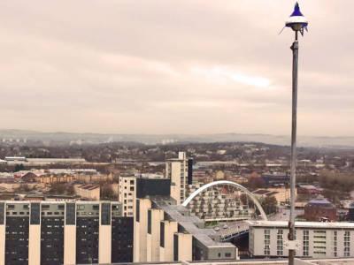 Glasgow mit flächendeckendem LoRa