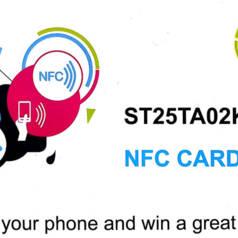 NFC-Tag in Scheckkartenform