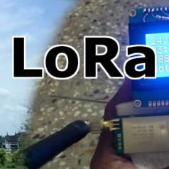 Telemetrie-System großer Reichweite mit LoRa-Repeater