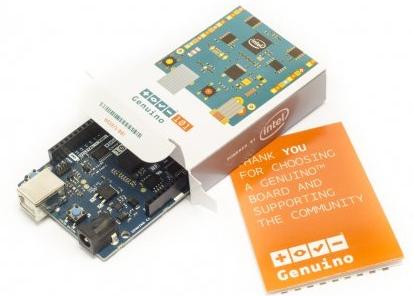 Arduino/Genuino 101 ist faktisch ein PC