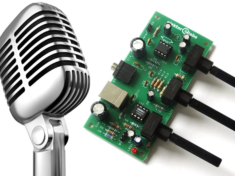 Projekt-Nr. 61: KaraOkay-Mikrofon-Verstärker