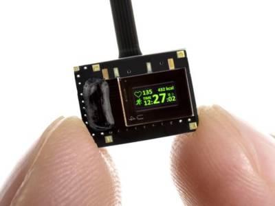 Energiesparendes Display für Datenbrillen