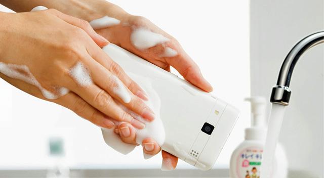 Für Leute mit Waschzwang oder Bakteriophobie