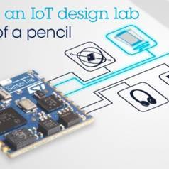 Entwicklungskit für biometrische Sensoren für Wearables und IoT