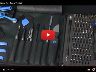 Ganz neu und ganz leistungsfähig: Werkzeugsatz für alles, was repariert werden muss