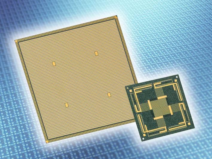 Ultradünnes Substrat mit hoher Wärmeleitung enthält ESD-Schutz
