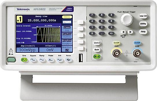 Einstiegs-Funktionsgenerator AFG1022 von Tektronix