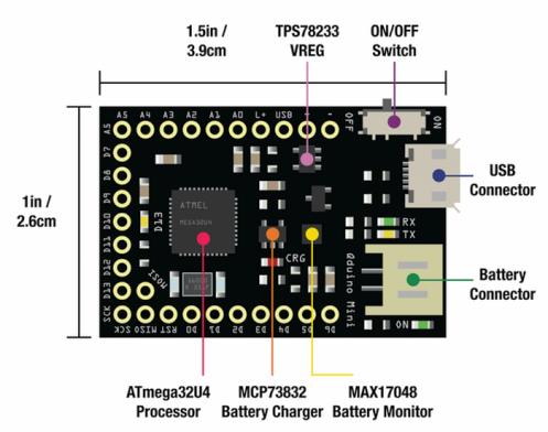 Arduino-Akkulader von 14-jährigem Jungen