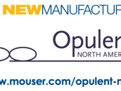 The Opulent product line, available from Mouser Electronics, features a complete line of high-power LED modules, a starboard series with Cree's latest X-Lamp technology and Cree Chemical Compatibility Kits.