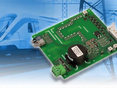 The 1SP0350 gate driver is optimally suited to high-reliability applications in the HVDC and railway industries.
