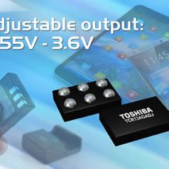 Spannungsregler im 0812-SMD-Gehäuse. Bild: Toshiba
