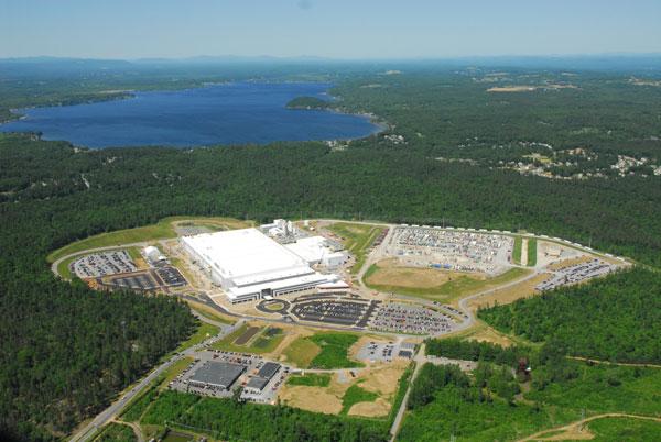 Im 5,5 km2 großen Luther Forest Technology Campus wurden die ersten 14nm-FinFETs von AMD gebaut