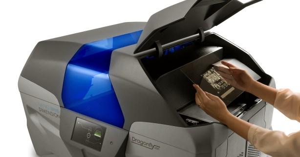 3D-Drucker druckt Multilayer-Platinen