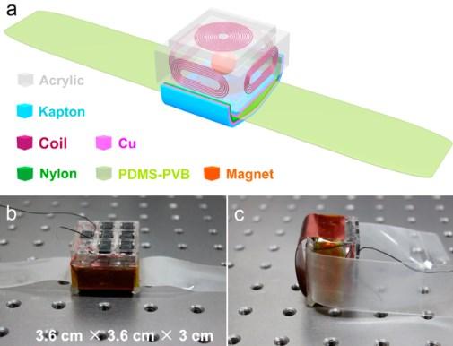 Hybrid-Nanogenerator versorgt E-Watch