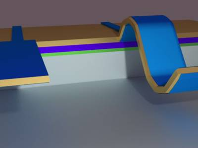 Flexo-elektrisches Nanomaterial für sehr empfindliche Sensoren