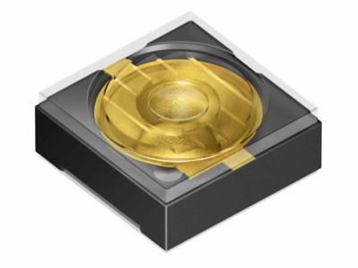 IR-LED für Iris-Scanner mit Knick in der Optik