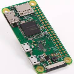 Neuer Raspberry Pi (Zero W) mit WLAN und Bluetooth für 10 €