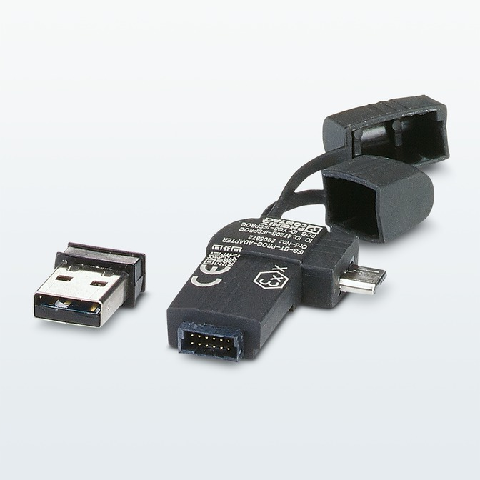 Bluetooth-Adapter für Datenaustausch mit mobilen Endgeräten