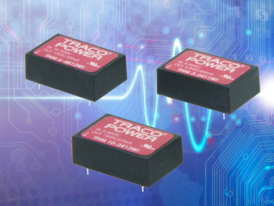 Highest performance DC/DC converters certified to medical safety standards