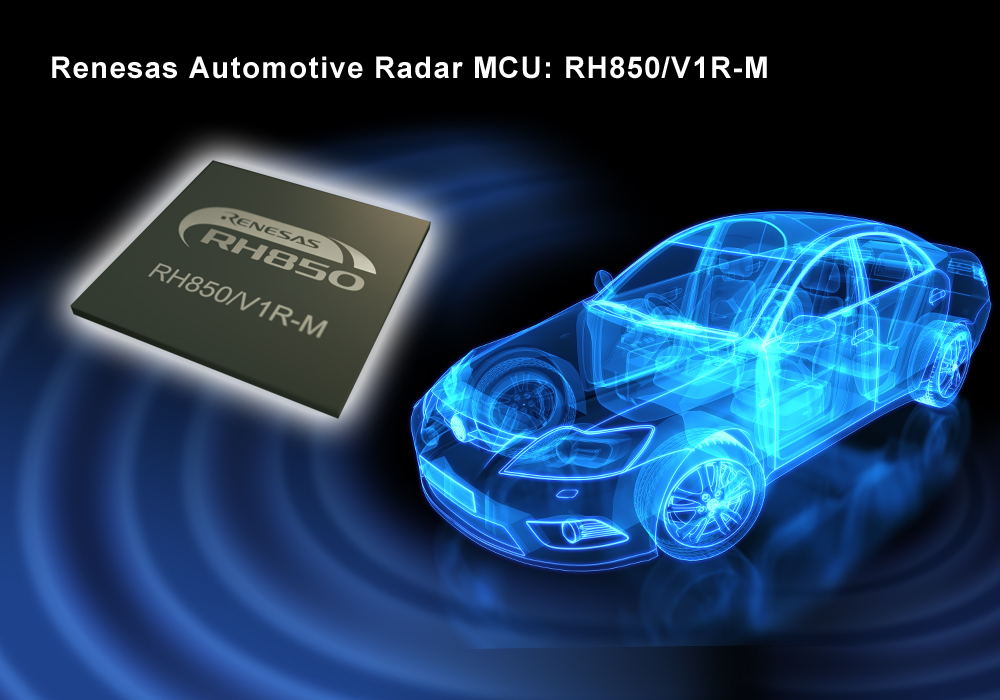 Renesas Electronics präsentiert Automotive-Radarlösung für ADAS und autonomes Fahren