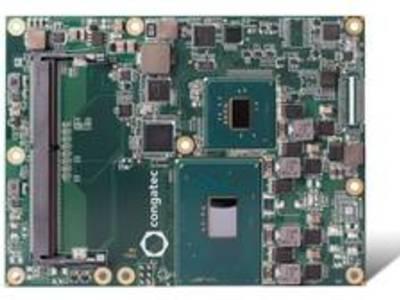 Congatec stellt Server-on-Module mit neuen Intel® Xeon®/Core™ Prozessoren vor