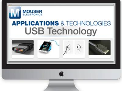 Mouser Features the Latest Type-C and 3.1 on New USB Technology Site