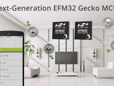 Silicon Labs Secures IoT Nodes with New EFM32 Jade and Pearl Gecko Microcontrollers