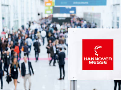 Messeauftritt der tbp electronics auf der Hannover Messe 2017